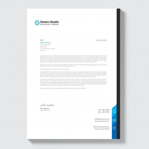 Modern Company Letterhead Disenos De Unas Diseno Grafico