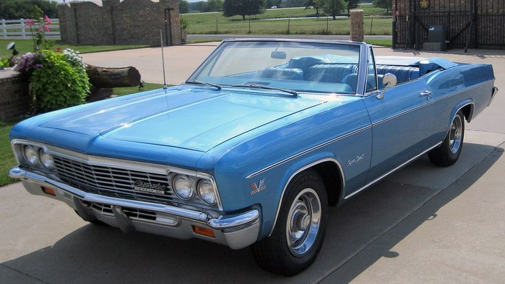 1966 Chevrolet Impala Convertible 1 Print Image