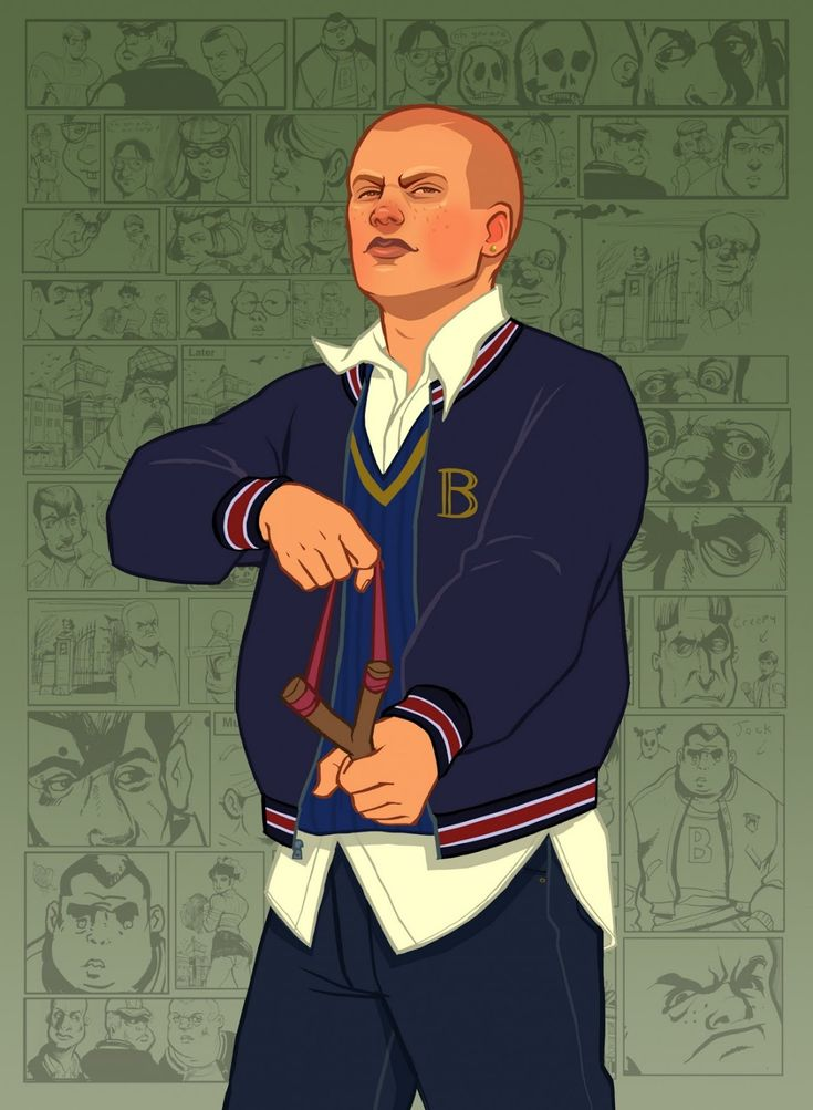 Bully Scholarship Edition - F.C: Artworks