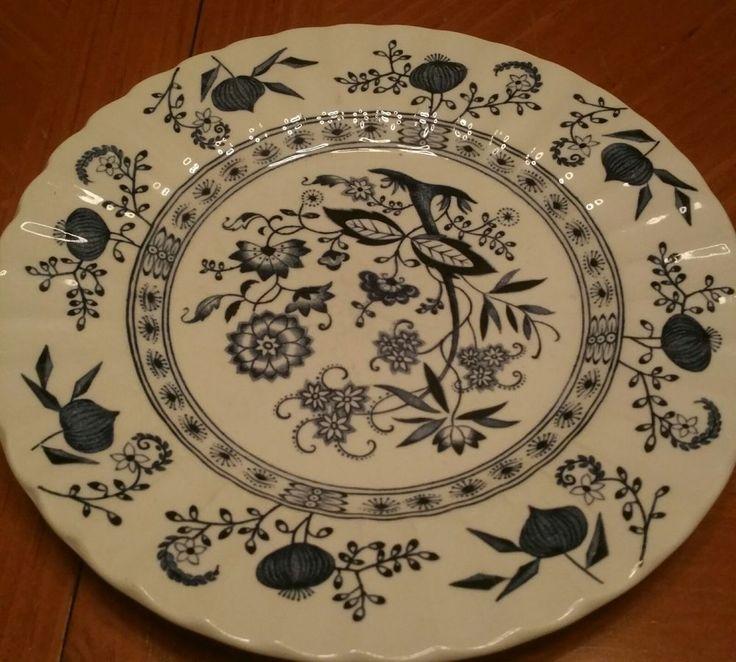 classic blue nordic onion plate #ClassicGMeakin