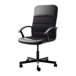 IKEA - FINGAL, Chaise pivotante,  , , La hauteur de la chaise est réglable et…