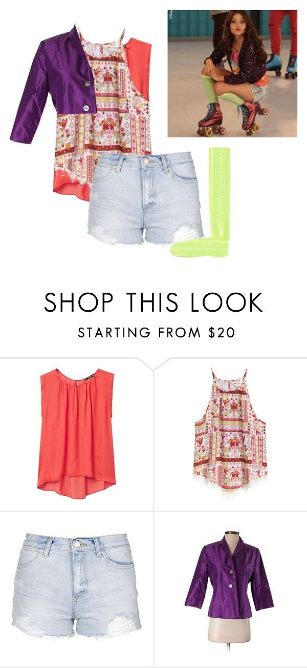 """""""soy luna luna"""" by maria-look on Polyvore featuring MANGO, H&M, Topshop, Casual Corner and Ribband"""