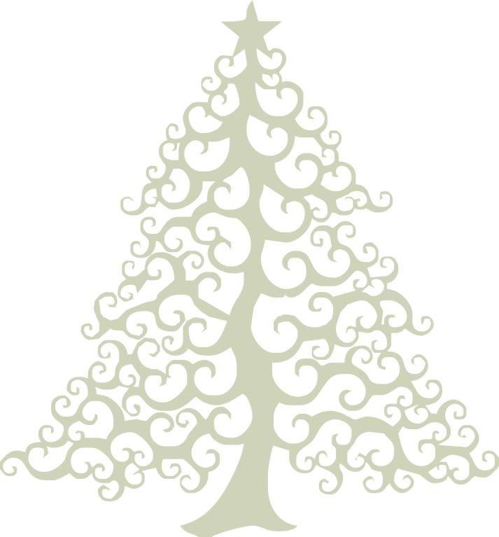 Christmas Tree 2 Swirly