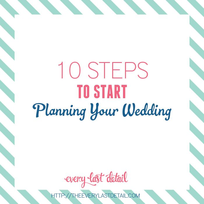 200 best wedding tips truths images on pinterest every day 10 steps to start planning a wedding junglespirit Gallery