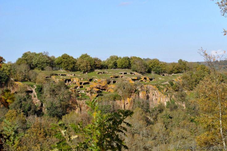 Bomarzo (Viterbo) - Riserva Naturale Monte Casoli - da insediamento preistorico a necropoli rupestre - Photo G.Garofoli (11-2010) - © All rights reserved - Tesori del Lazio