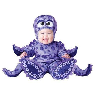 Halloween Baby Costumes Octopus