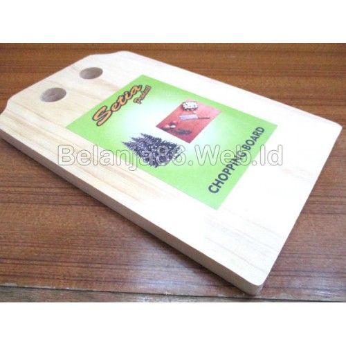 Talenan Kayu / Wood Chopping Board - Setia Product