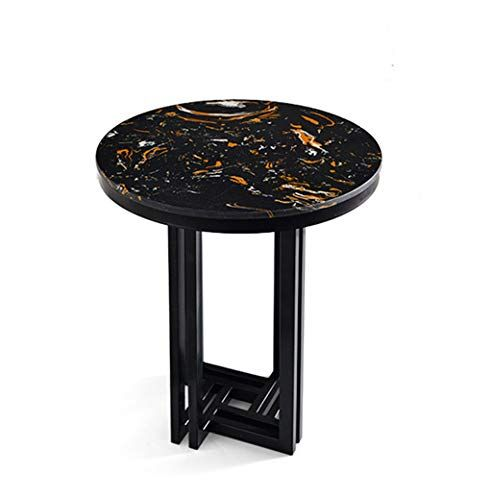 MBD Nordic Luxury Marble Side Table Tea Table Fashion Round Coffee