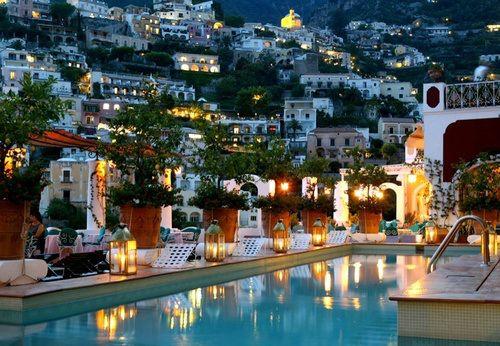 Lantern Pool, Positano, Italy