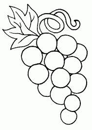 Resultado de imagen para dibujos de uvas