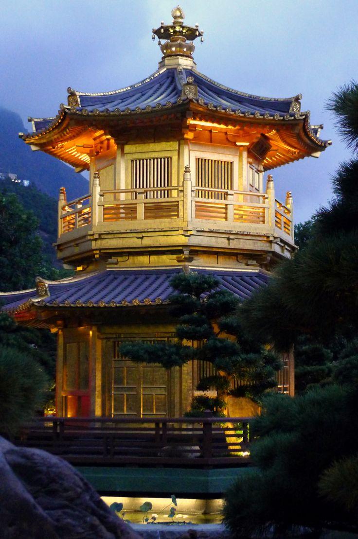 Pavilion of Perfection in Nan Lian Garden (Hong Kong)   http://www.travelandtransitions.com/destinations/destination-advice/asia/