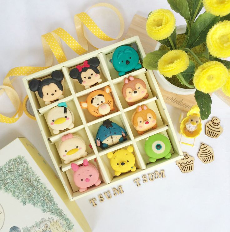 the best macaroons in town, and its TSUM TSUM :)