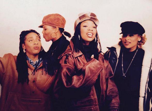 HIPHOPRAPR&B. MC Lyte, Queen Latifah, Brandy & Yo-Yo