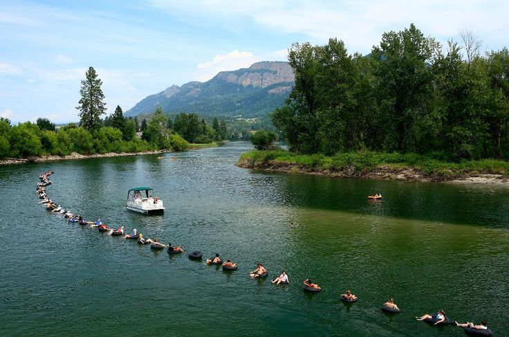 Different rivers to go tubing on....this Enderby one is Wonderful....I've actually done it...:)