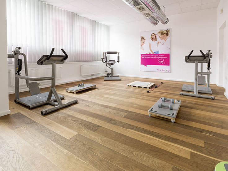 Gym Floor | Oak Molto Vulcano Brushed Natural Oil | Mafi Timber Floors