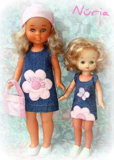 My doll collection: Nancy y Lesly