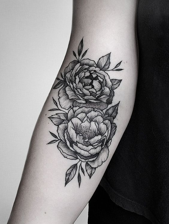 Lovely flower ditch tattoo