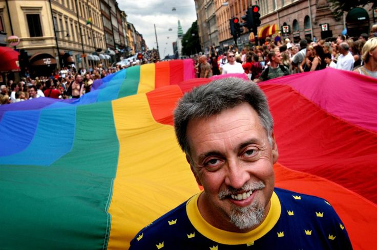 The multicolored flag Mr. Baker designed in 1978 became a universal symbol of gay pride.