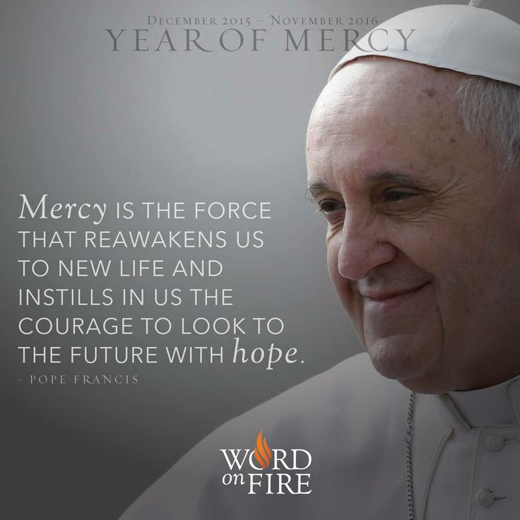 Pope Francis on Mercy