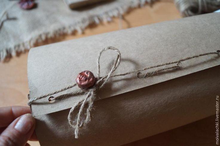 Простая упаковочка для игрушки за 10 минут - Ярмарка Мастеров - ручная работа, handmade