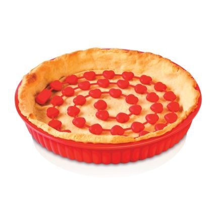 Zeal® Silicone Pie Weights. Makes baking the pie crust only so much easier! By Kitchen Innovations