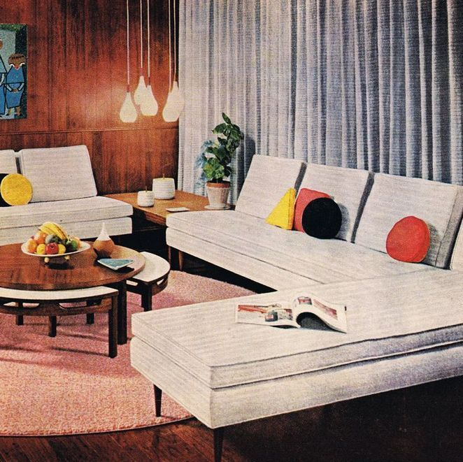26+ A Review of Mid Century Modern Living Room Ide…