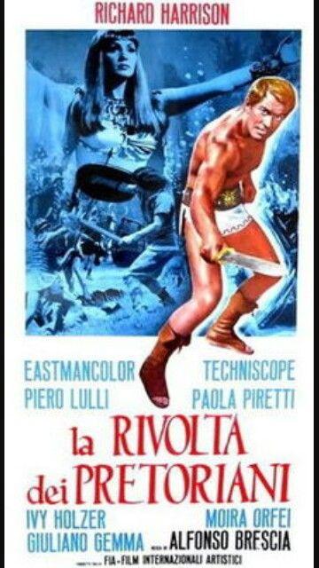 Revolt of the Praetorians, Moira Orfei, 1964.  #LaRivoltaDeiPretoriani #RevoltOfThePraetorians #MoiraOrfei #1964 #Peplum #Italy
