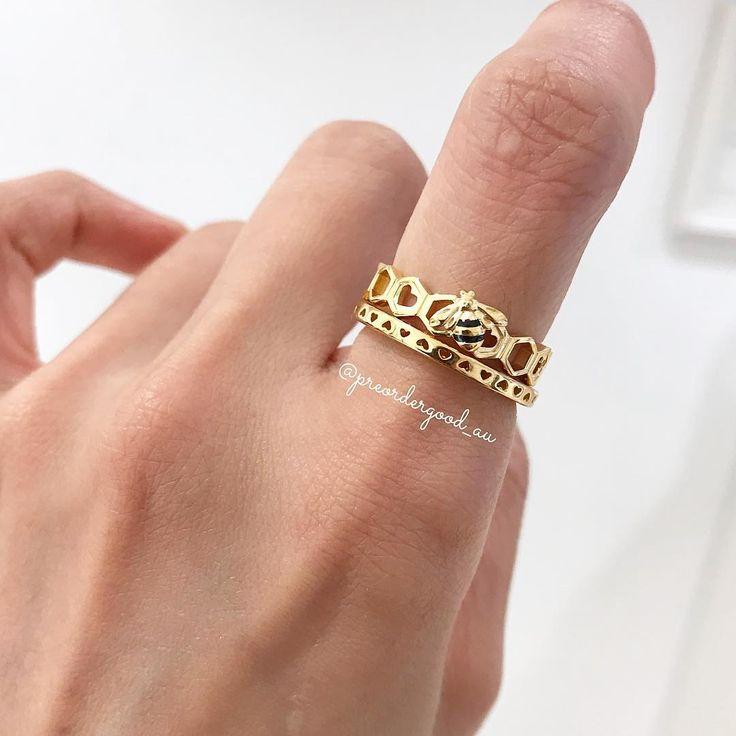pandora honeybee ring