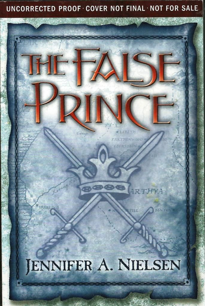 The False Prince found the ARC at my local thrift store
