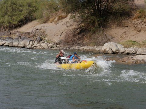 Rafting Trip on the Orange River - South Africa