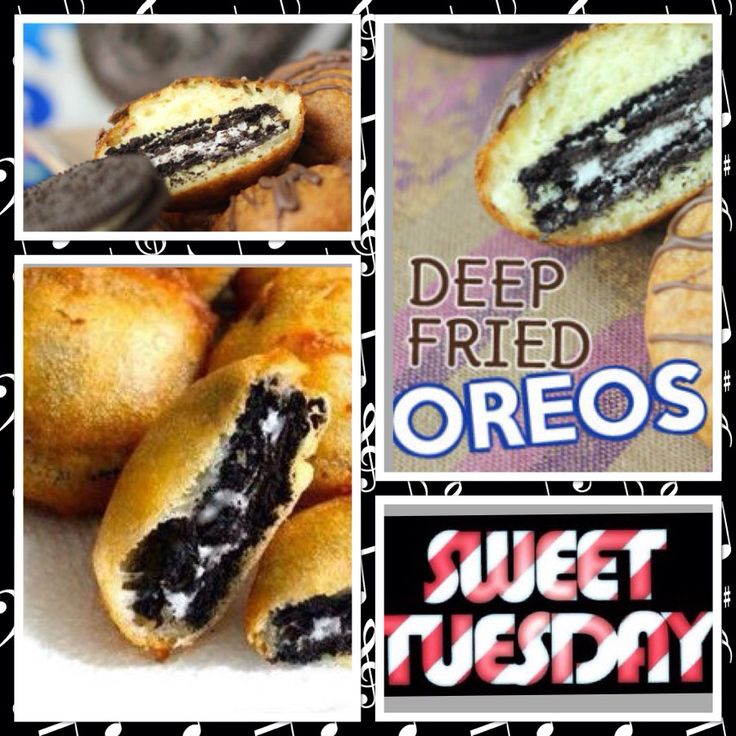 Its sweet Tuesday's.  Come try our  DEEP FRIED OREO.