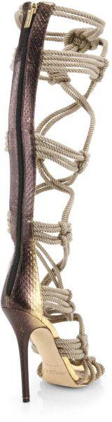 548a7b489a08 9 best images about Gothic FOOTWEAR. DownloadResolution · Jimmy choo Keane  Metallic Elaphe