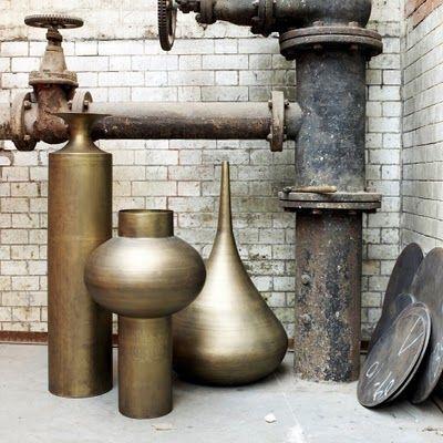 I can dream... // tom dixonTom Dixon, Beats Vessel, Metals, Art, Interiors Design, Brass Vessel, Brass Beats, Decor Accessories, Ceramics Sculpture