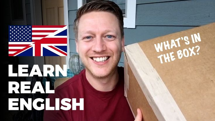 Learn REAL English: What's in the Box? 🇬🇧 🇺🇸