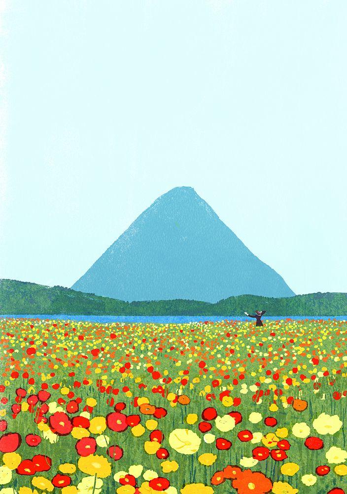 "kiuchitatsuro: "" Cover illustration for JR Kyushu Please May issue. """