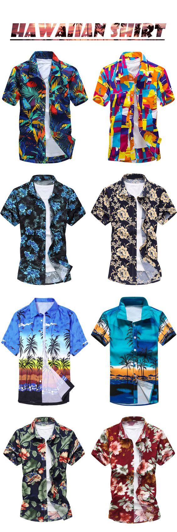 Short Sleeves, Hawaiian Shirt