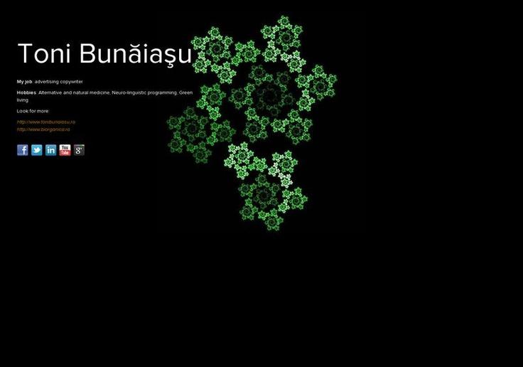 Toni  Bunăiaşu's page on about.me – http://about.me/tonibunaiasu