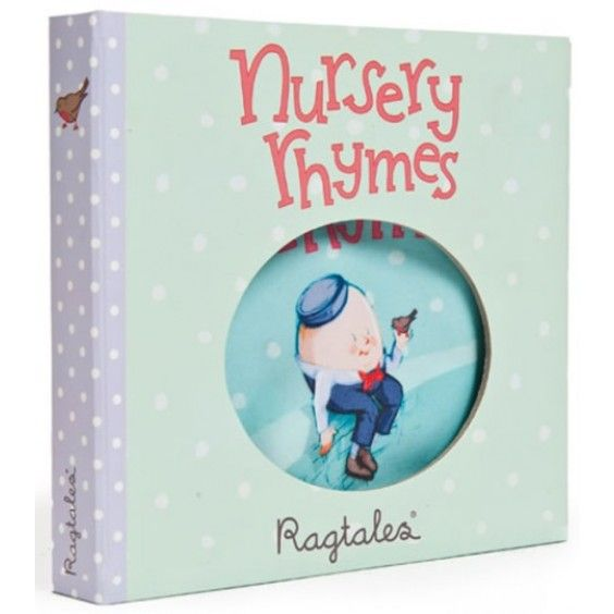 Ragtales - Ragbook Nursery Rhymes - such a handy way to keep bub entertained while travelling #EntropyWishList #PintoWin