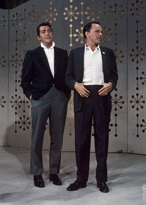 """We're practically like brothers. Everything we do, we do together. We always keep in touch with each other and our families are always together. Well, we're brothers. Everything is Frank and Dean.""- Dean Martin on his friendship with Frank"