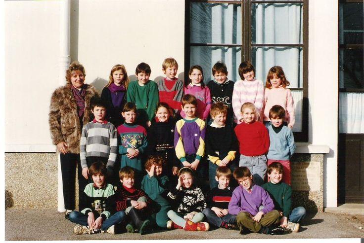 Photo de classe CE2 de 1989, Ecole Augustin Fresnel (broglie) - Copains d'avant