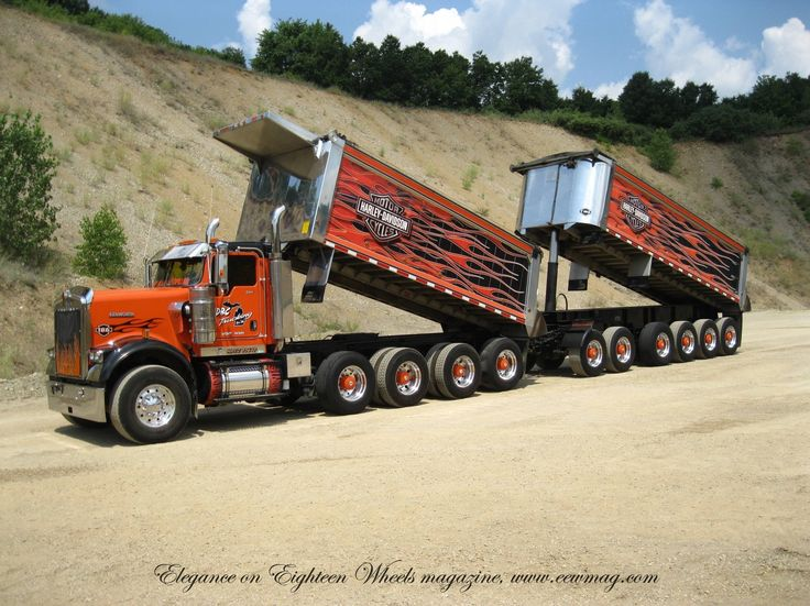 Don Mitchell big KW is a true work horse in Michigan, this rig is a beast of the highway