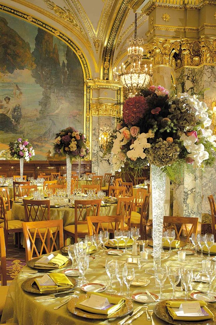 Lé Louís XV Alaín Ducâsse à l'Hôtel de París, Monte-Carlo