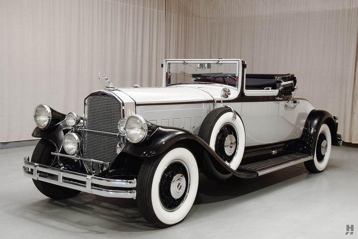 1930 Pierce Arrow Model A Convertible Coupe