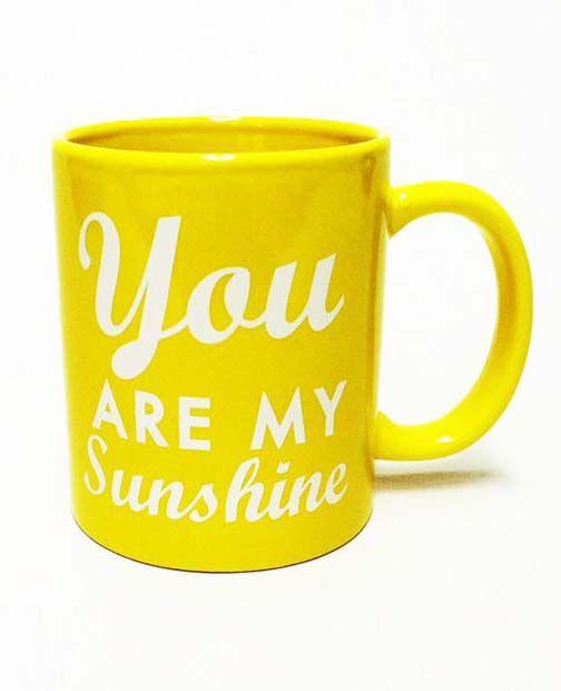 Sunshine Mug - Set of 4