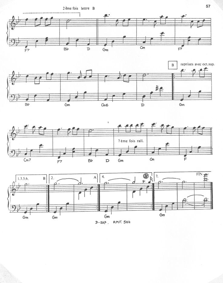 лучшие ноты для фортепиано картинки путей