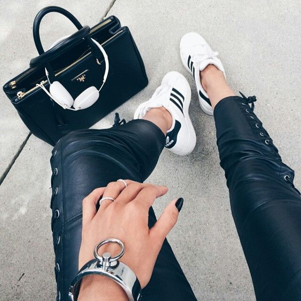adidas dope fashion girl sporty inspiration