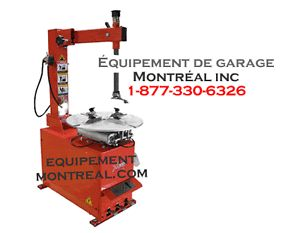 Monte Démonte pneu Tire changer Machine a pneu NEUF ET GARANTI
