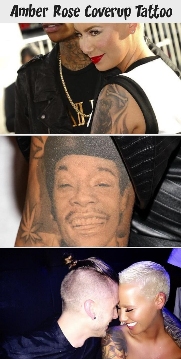 Amber Rose Coverup Tattoo in 2020 Famous tattoos, Amber