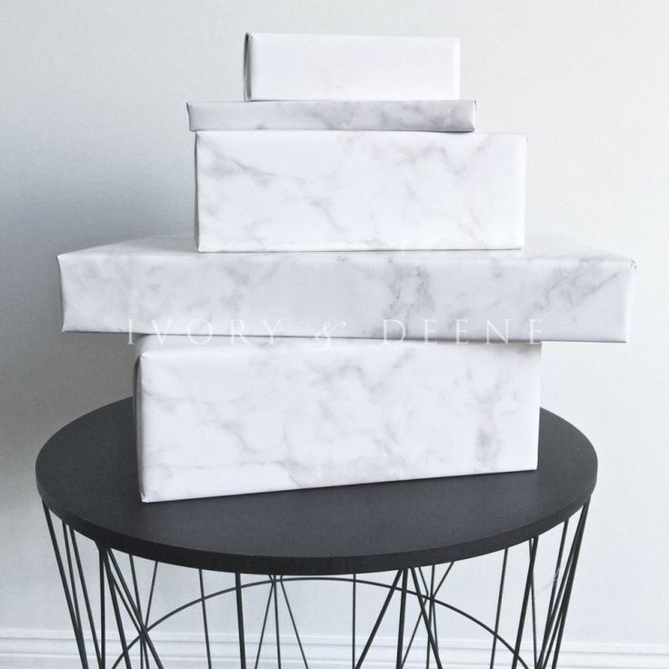 Luxury Gloss White Marble Gift Wrapping Paper 15m | Buy New Arrivals