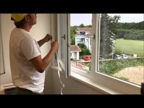 mit dem Fenstersegeltuch ganz einfach und schnell den Abluftschlauch nach aussen führen!
